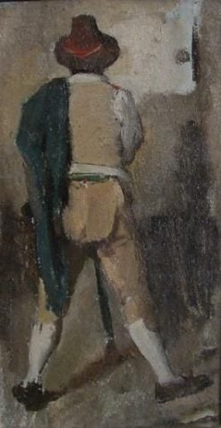 Italian Countryman | Jean Jacques Henner | Oil Painting