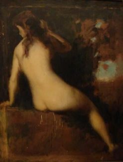 Study for Naïades | Jean Jacques Henner | Oil Painting