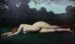 Byblis | Jean Jacques Henner | Oil Painting