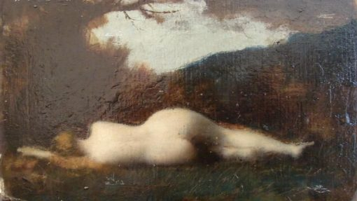 Byblis   Jean Jacques Henner   Oil Painting