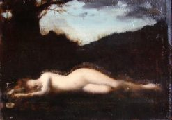Byblis changeé en source | Jean Jacques Henner | Oil Painting