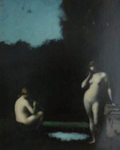 Idylle | Jean Jacques Henner | Oil Painting