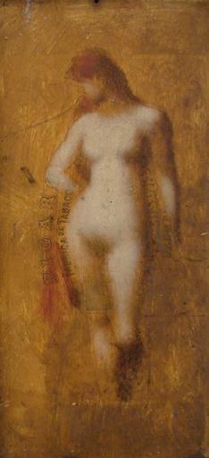 Femme nue au debout | Jean Jacques Henner | Oil Painting