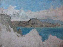 View of Cape Campanella and the Isle of Sirenes