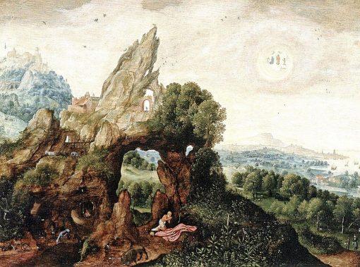 Saint Jerome Penitent   Herri met de Bles   Oil Painting