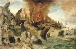 The Destruction of Sodom | Herri met de Bles | Oil Painting