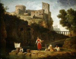 Italian Landscape | Claude Joseph Vernet | Oil Painting