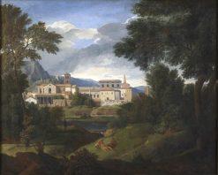 Landscape around Tivoli | Gaspard Dughet | Oil Painting