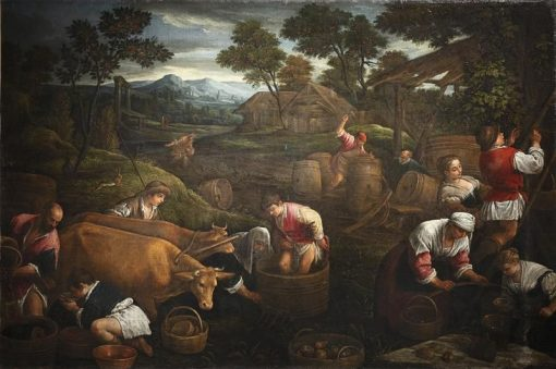 Autumn | Jacopo Bassano | Oil Painting