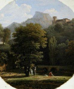 Mountainous Landscape | Jean Victor Bertin | Oil Painting