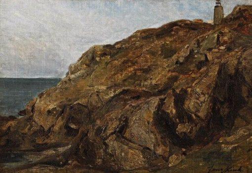 Cliffs | Johan Barthold Jongkind | Oil Painting