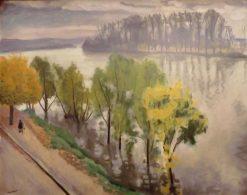 La Seine a la Frette en automne | Albert Marquet | Oil Painting