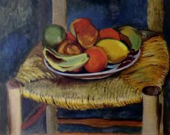 Nature morte au tabouret (Still Life on a Chair) | AndrE Utter | Oil Painting