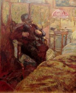 Bedside Manner | Edouard Vuillard | Oil Painting