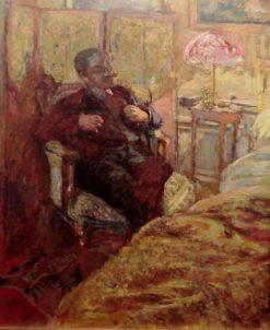 Bedside Manner | Edouard Vuillard | Oil Painting