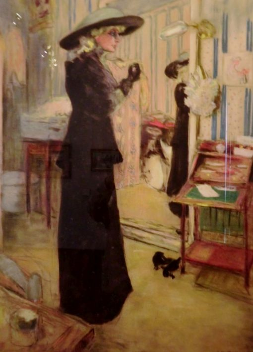 Charlotte Lysés | Edouard Vuillard | Oil Painting