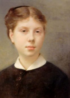 Portrait of Miss Rochefort de Woogt | Fernand Cormon | Oil Painting