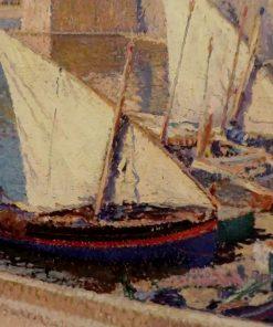 Barques de pêche a Collioure | Henri Martin | Oil Painting