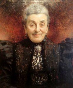 Portrait of an Elderly Lady | LEon Joseph Florentin Bonnat | Oil Painting