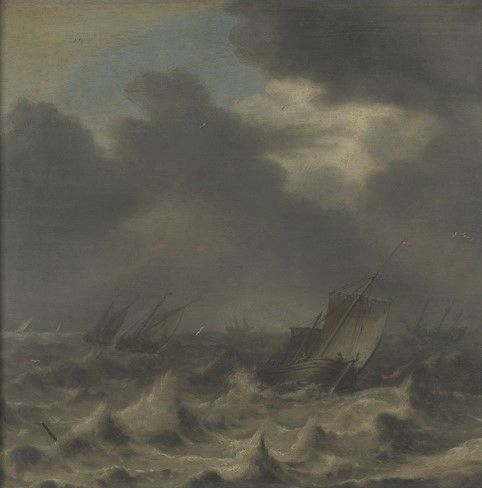 Seascape | Abraham van Beyeren | Oil Painting