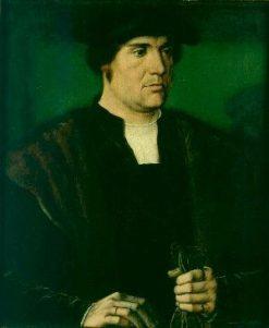 George 3rd Baron of Hastings   Ambrosius Benson   Oil Painting