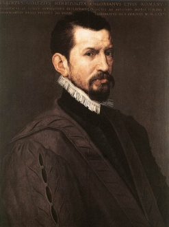 Portrait of Hubert Goltzius | Anthonis Mor | Oil Painting