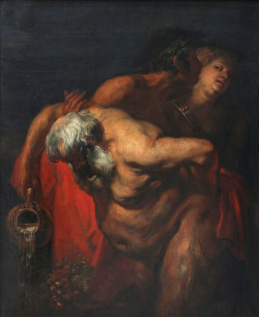 Drunken Silenus | Anthony van Dyck | Oil Painting