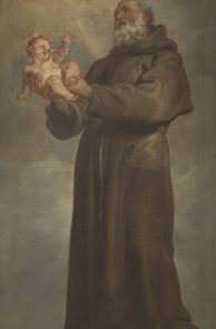 Saint Anthony of Padua | Anthony van Dyck | Oil Painting