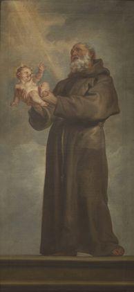 Saint Anthony of Padua | Anthony van Dyck | Oil Painting