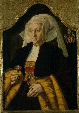 Portrait of Margarethe van Houltz