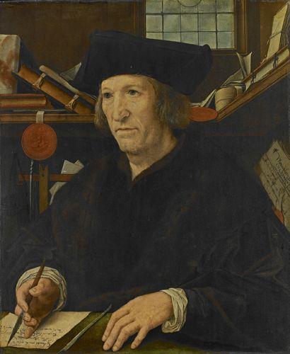 Portrait of the Secretary to Charles V(also known as Portrait d'un secretaire de Charles Quint) | Bernaert van Orley | Oil Painting