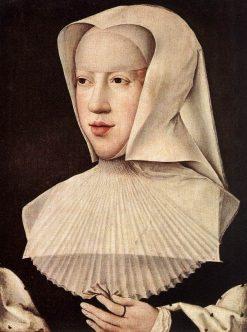 Portrait of Margareta Van Oostenrijk | Bernaert van Orley | Oil Painting