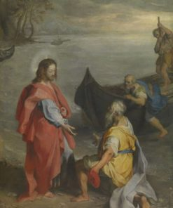 The Meeting of Saints Peter and Andrew   Federico Barocci   Oil Painting
