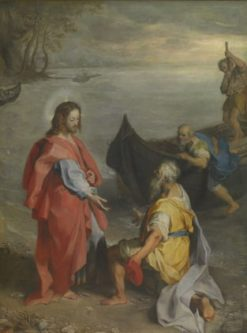The Meeting of Saints Peter and Andrew | Federico Barocci | Oil Painting