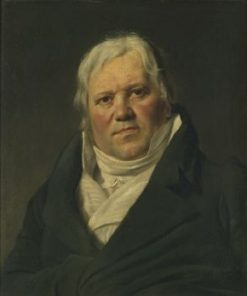Portrait of Monsieur Martin-Joseph Allard | Francois Joseph Navez | Oil Painting