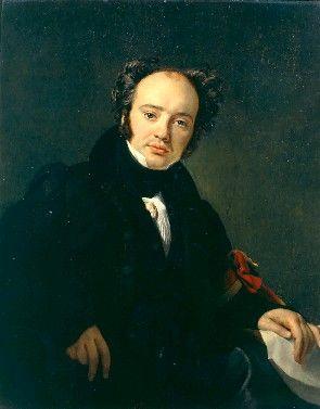 Portrait of Engelspach-Larivieres | Francois Joseph Navez | Oil Painting