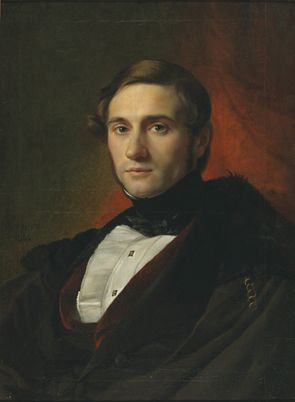 Portrait of Louis Alvin | Francois Joseph Navez | Oil Painting