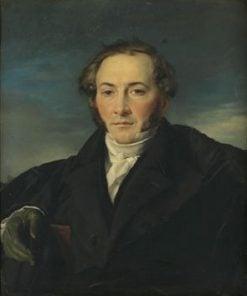 Portrait of Monsieur Nicolas-Joseph-Xavier Lion | Francois Joseph Navez | Oil Painting