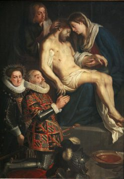 Pieta with Portraits of Henry van Dondelberghe and wife | Gaspard de Crayer | Oil Painting