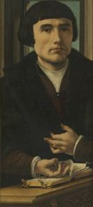 Portrait of a Donor (part of triptych) | Jan Gossaert | Oil Painting