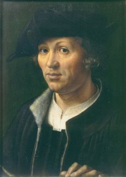 Portrait of a Man | Jan Gossaert | Oil Painting