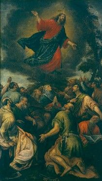 The Ascension   Leandro Bassano   Oil Painting