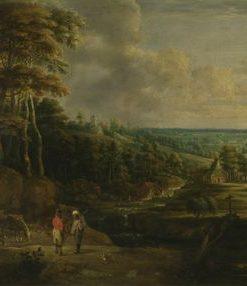 Departing for a Walk   Lucas van Uden   Oil Painting