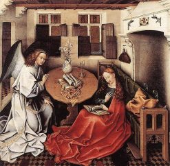 The Annunciation | Robert Campin | Oil Painting