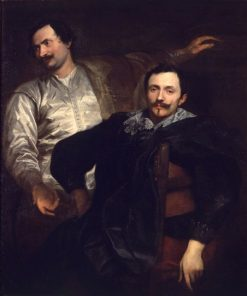 The Painters Lucas and Cornelis Wael | Anthony van Dyck | Oil Painting