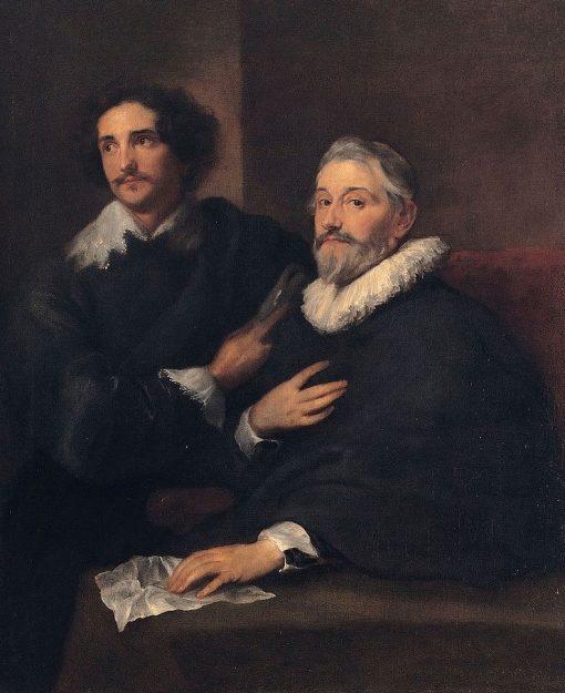 The Engravers Pieter de Jode the Elder and Pieter de Jode the Younger | Anthony van Dyck | Oil Painting