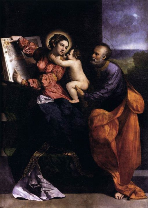 The Holy Family | Dosso Dossi | Oil Painting