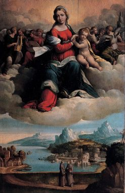 Madonna with Child in Glory | Il Garofalo | Oil Painting