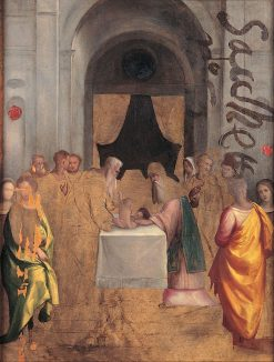 The Presentation at the Temple | Il Garofalo | Oil Painting