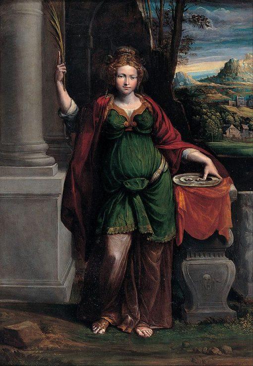 Saint Lucy | Il Garofalo | Oil Painting
